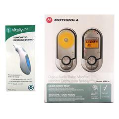 Sanborns: Monitor de Bebé Motorola + Termómetro Infrarojo Vitallys
