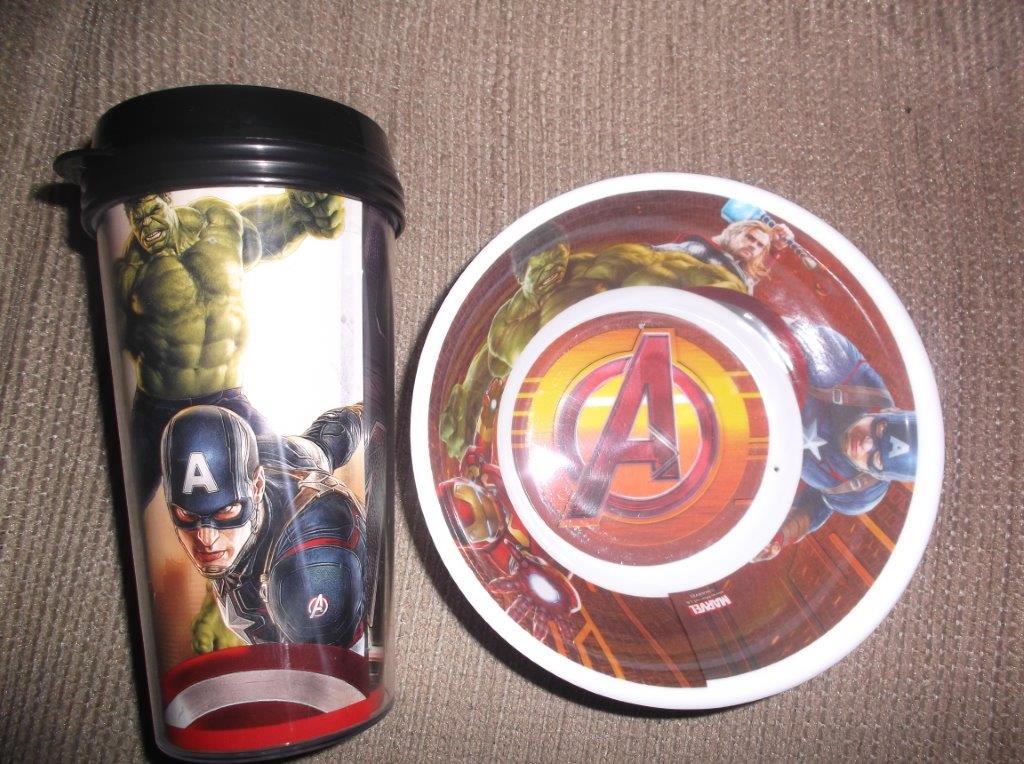 Walmart Periférico (Cuautitlán) Termo y bowl Avengers $25.01 y $7.02 y MAS...