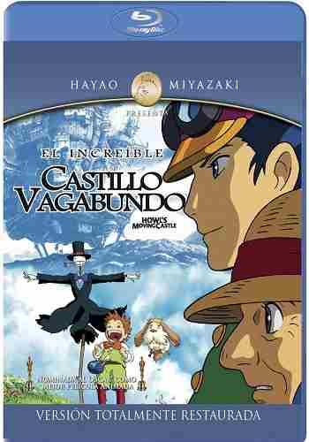 B Store (Sucursales): Castillo Vagabundo Blu-ray Hayao Miyazaki