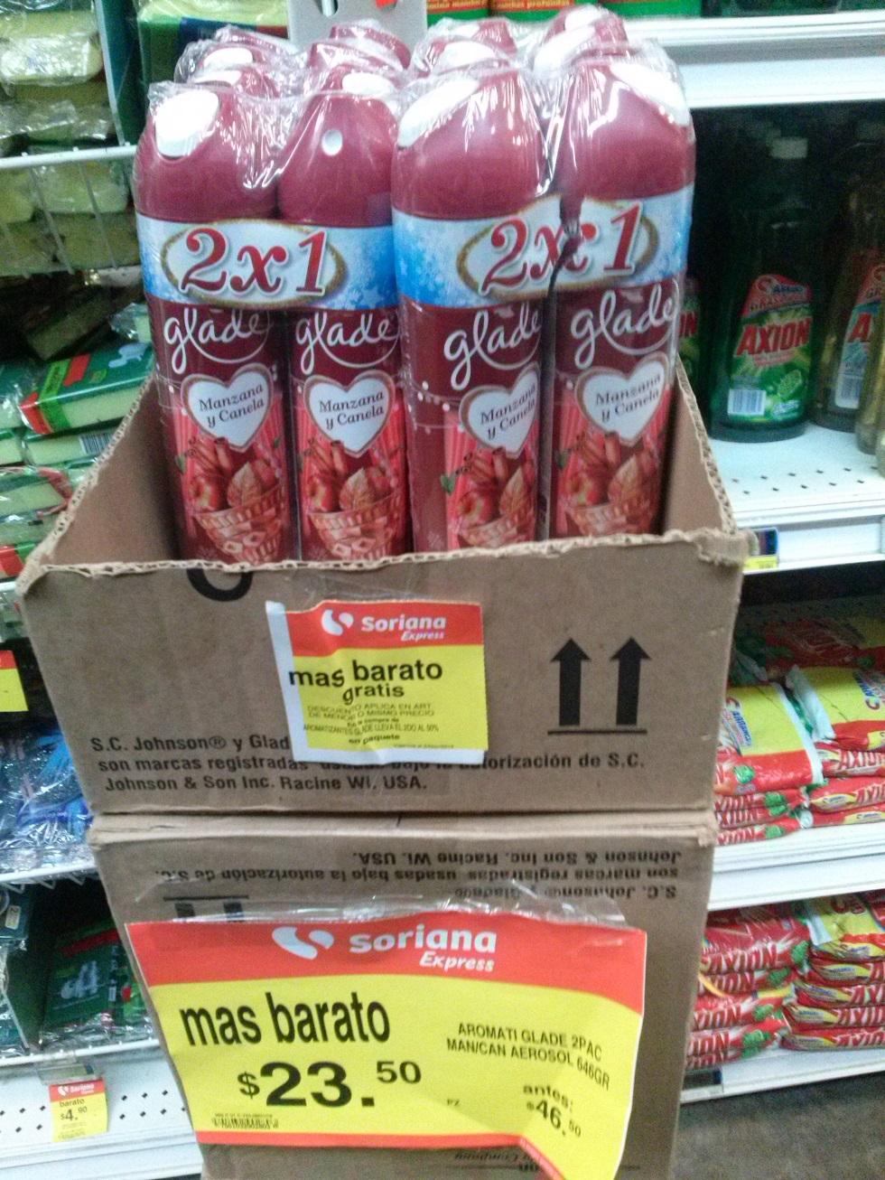 Soriana express: 4 aromatizantes por $35