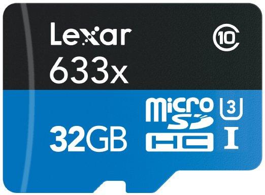 Amazon: Memoria micro SD Lexar x633 de 32gb a $367