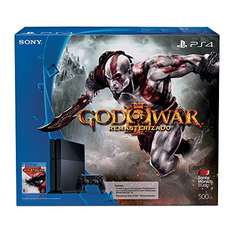 Amazon MX: Consola PS4 500 GB + God Of War 3 $6,299