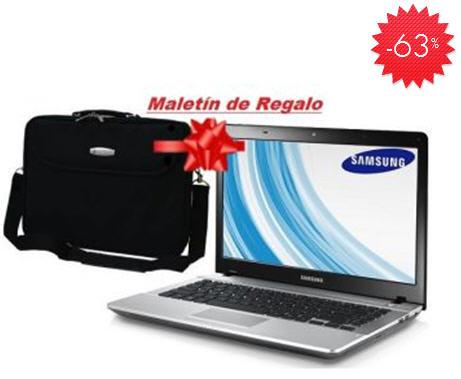 """Linio: laptop Samsung 14"""" con maletín $3,799"""