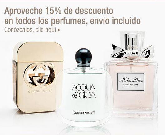 Costco: 15% de descuento en perfumes y lociones