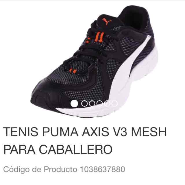 Liverpool: Tenis Puma Axis V3 Caballero a $550 y mas tenis con 50% de descuento
