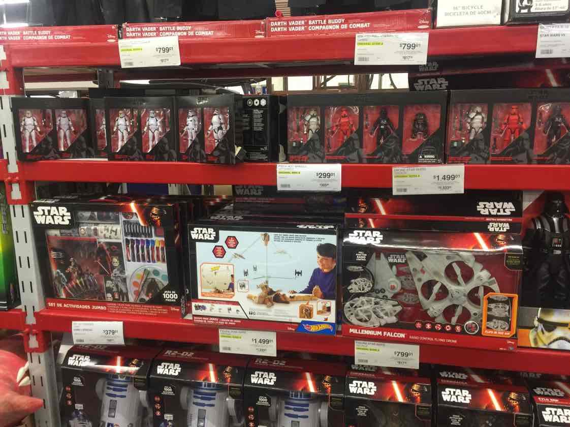 Sam's Club: todos productos de Star Wars desde el 30% al 75% de descuento