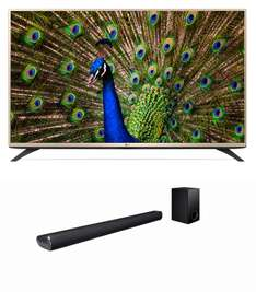 Claro Shop: Pantalla LG Led 43¨ UHD Smart + Barra de Sonido + Buffer a $9,599