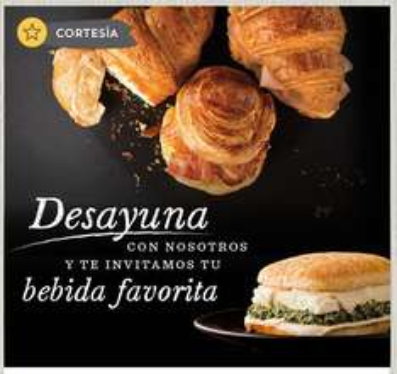 Starbucks - Bebida grande GRATIS Comprando desayuno Para miembros Rewards.
