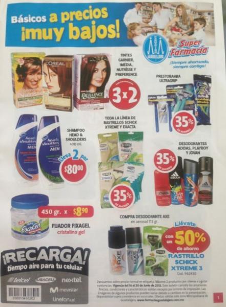 Folleto Farmacias Guadalajara del 16 al 30 de junio 2013