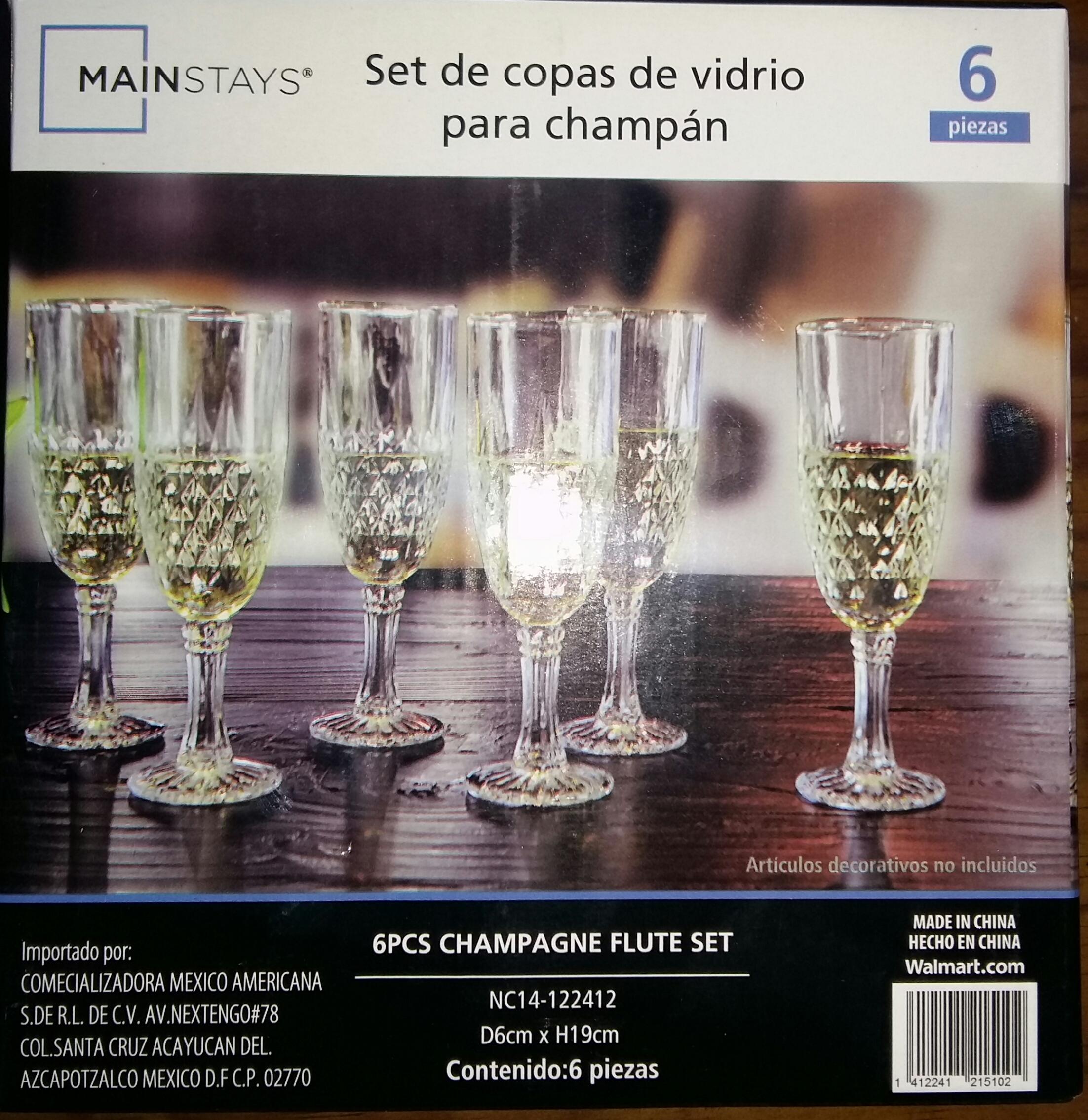 Bodega Aurrerá: Copas marca Mainstays c/6  y más.