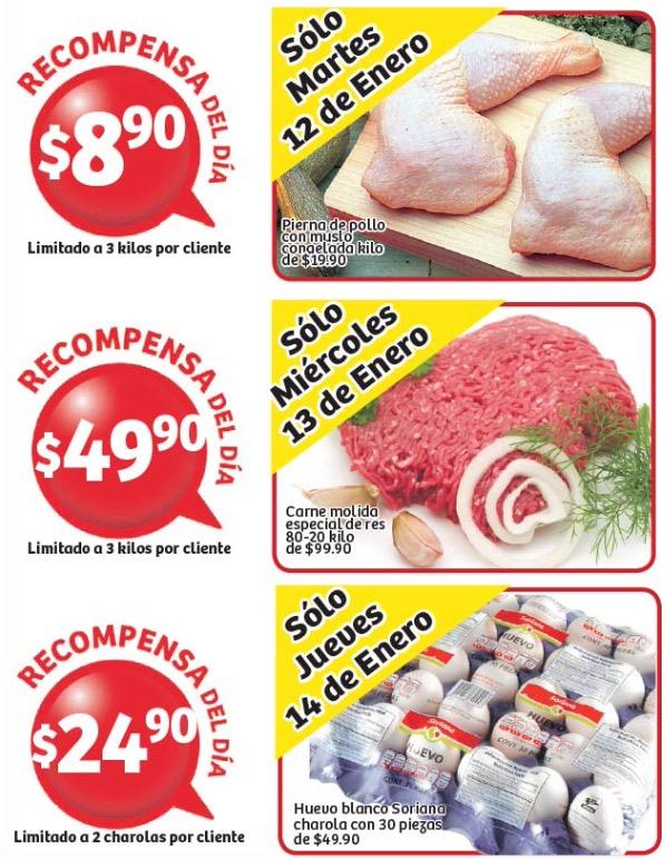 Soriana: 30 huevos por $25