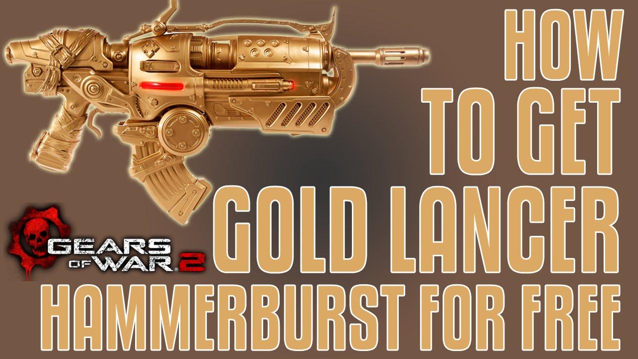 Xbox Gears of War 2: Lancer y Hammerburst Doradas Gratis Lee detenidamente