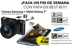 "Best Buy: pantalla Sony LED 32"" $4,545, cámara Samsung 20MP + Galaxy Tab 7"" $6,990 y +"