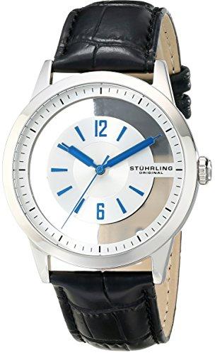 AMAZON: Stuhrling Original Winchester Reloj Negro de Acero Inoxidable