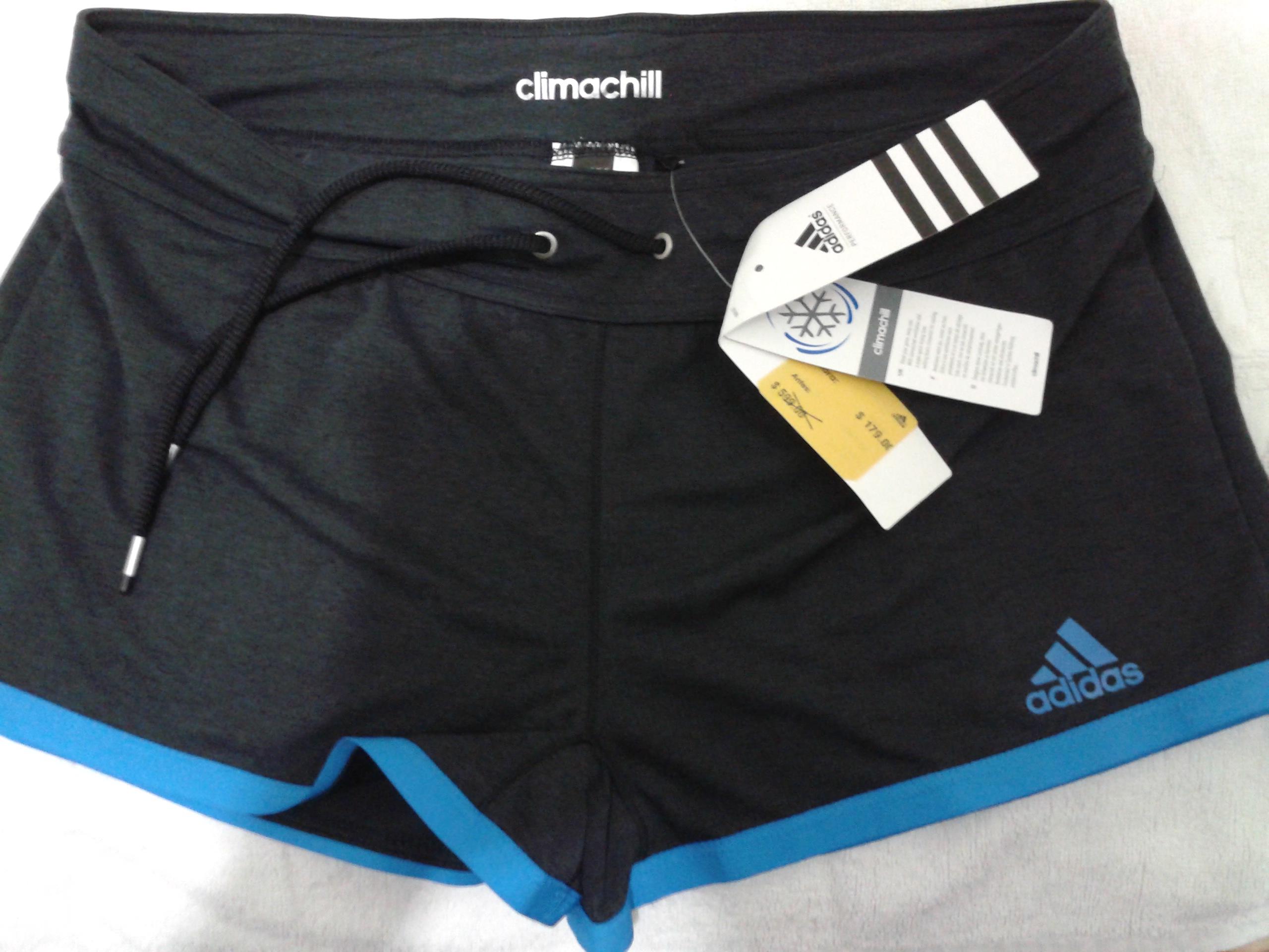 Adidas: Short de dama Climachill a $179