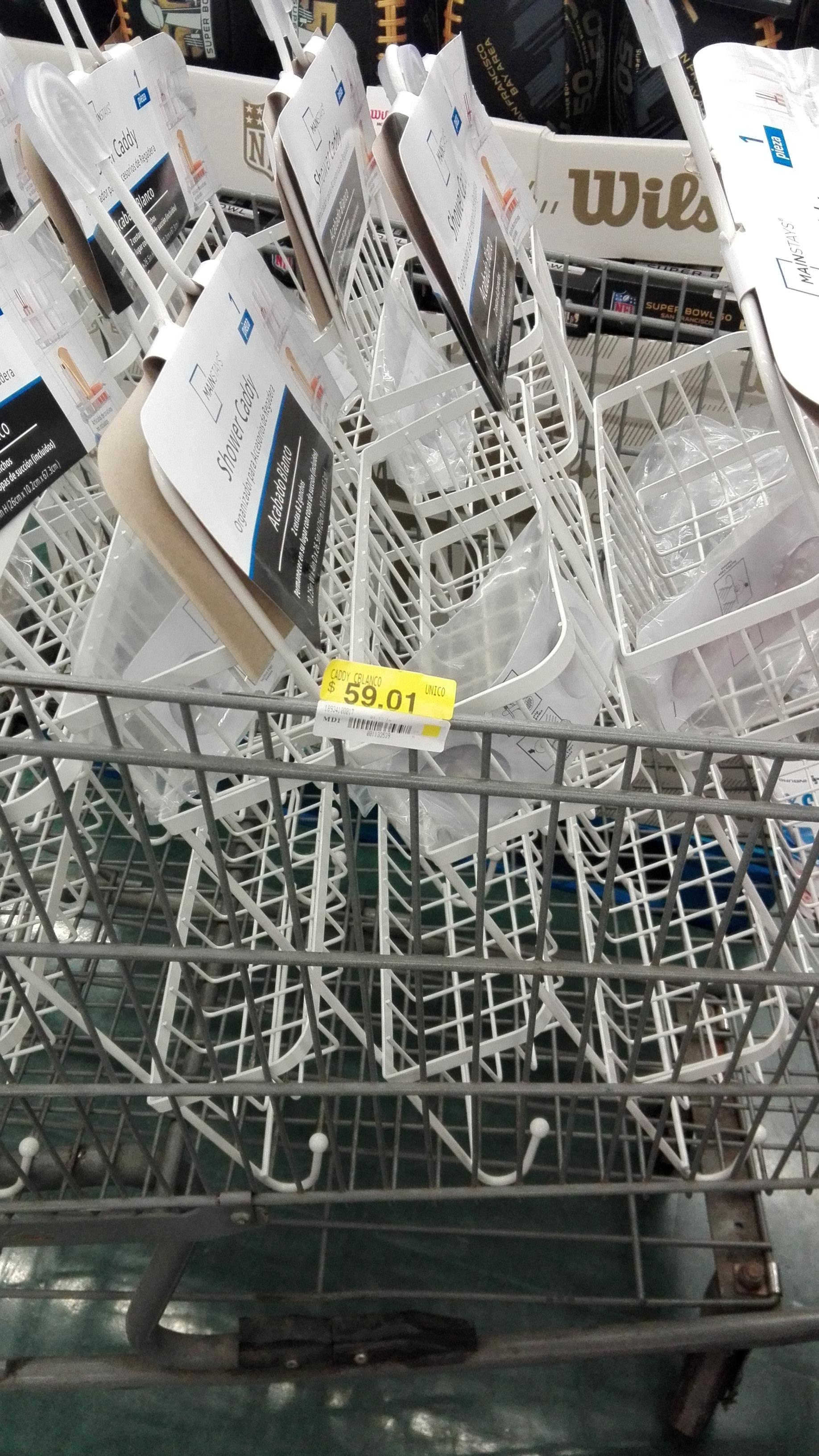 Walmart Ote Tuxtla Gtz, Chis.: Organizador para regadera a solo $59.01