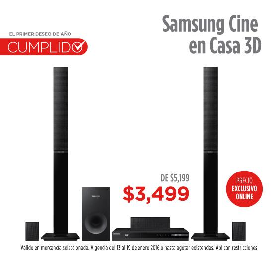 Elektra: Samsung Cine en Casa 3D HT-H4530 R/ZX