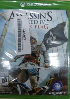 Coppel: Juego Xbox One Black Flag a $130