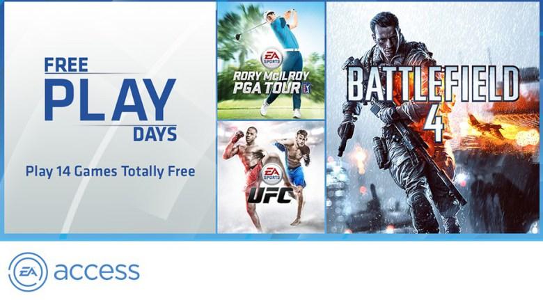 EA Access GRATIS por 5 días para usuarios Gold de Xbox One