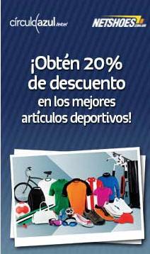 Netshoes: 20% de descuento en todo incluyendo rebajas con Telcel