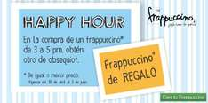 Happy Hour en Starbucks: 2x1 en frappuccinos