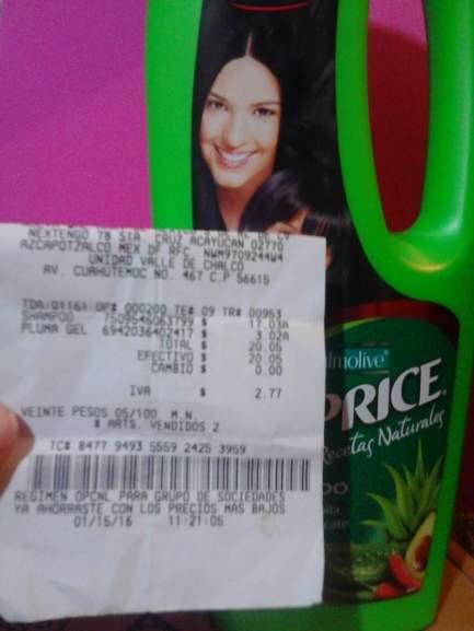 Bodega Aurrerá: shampoo Caprice a $17.03