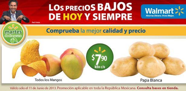 Martes de frescura Walmart junio 11: todos los mangos $7.90 y más