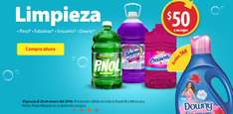 Walmart Super: Productos de Limpieza a sólo $50