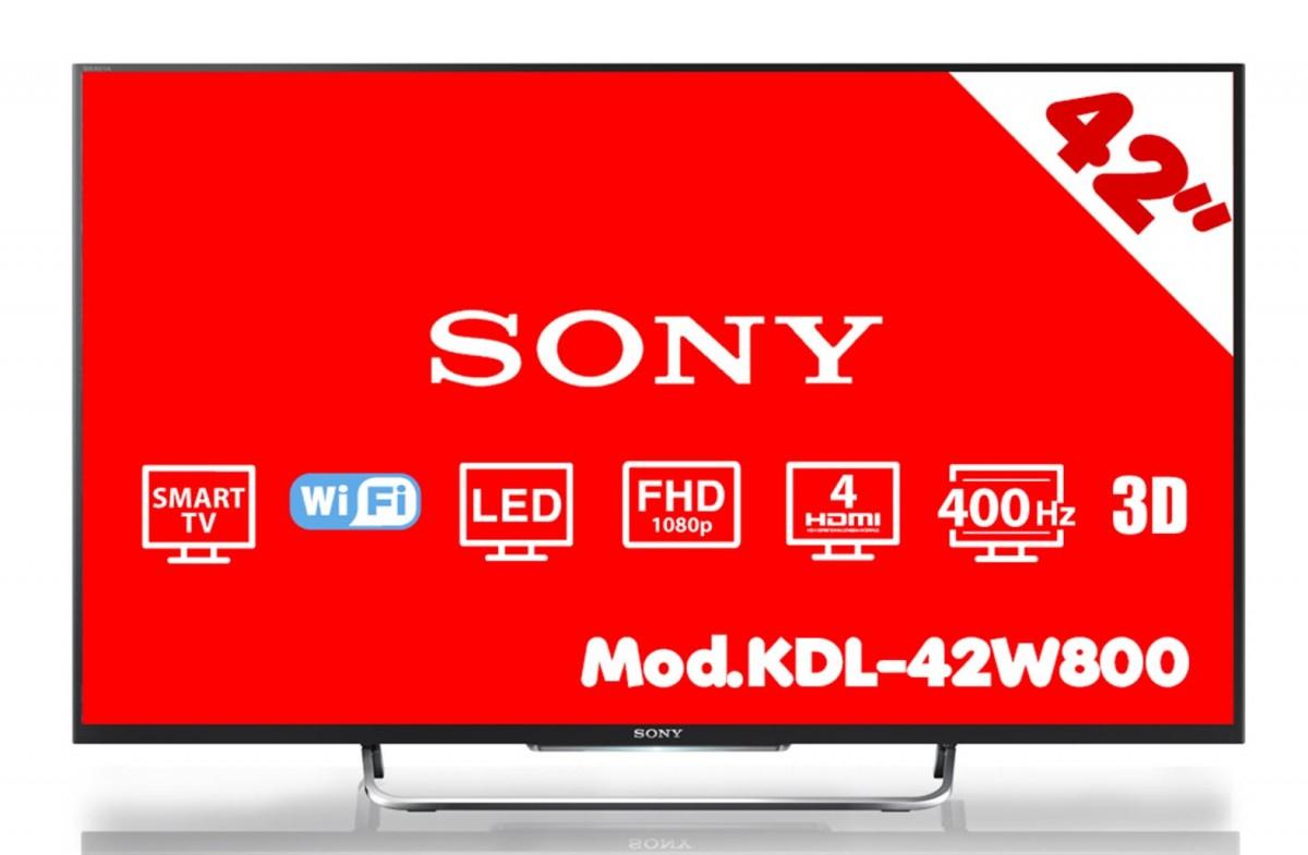 HEB: Pantalla Sony Led 42 Smart Tv Full Hd 3D