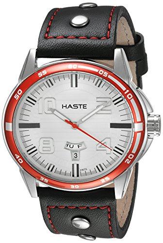 Amazon MX: Haste 112462062 Reloj Análogo para Hombre, Redondo, blanco/negro