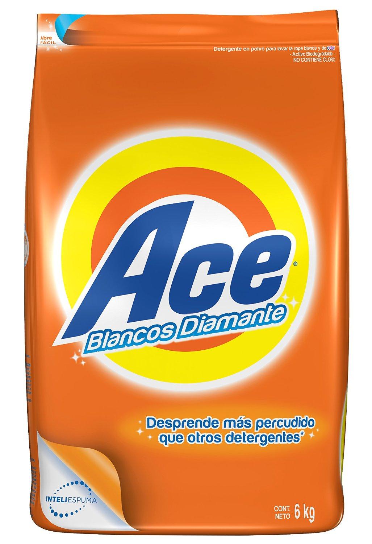 Amazon: detergente en polvo Ace 6kg en$99