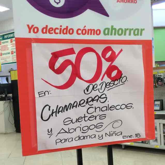 Soriana: 50% descuento ropa invierno para dama y niña