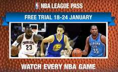 NBA League Pass abierto del 18 al 24 de enero