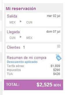 Volaris: 50% de descuento en vuelos desde o hacia Guadalajara y DF