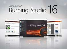 Software para Quemar CD/DVD/BR para Windows, ASHAMPOO BURNING STUDIO 16 como descarga GRATUITA cortesía de Ashampoo.