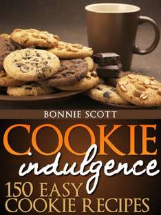 "E-Book ""Cookie Indulgence: 150 Easy Cookie Recipes"" como descarga GRATUITA en Amazon (US)."