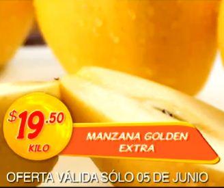 Miércoles de Plaza en La Comer junio 5: manzana $19.50 y más