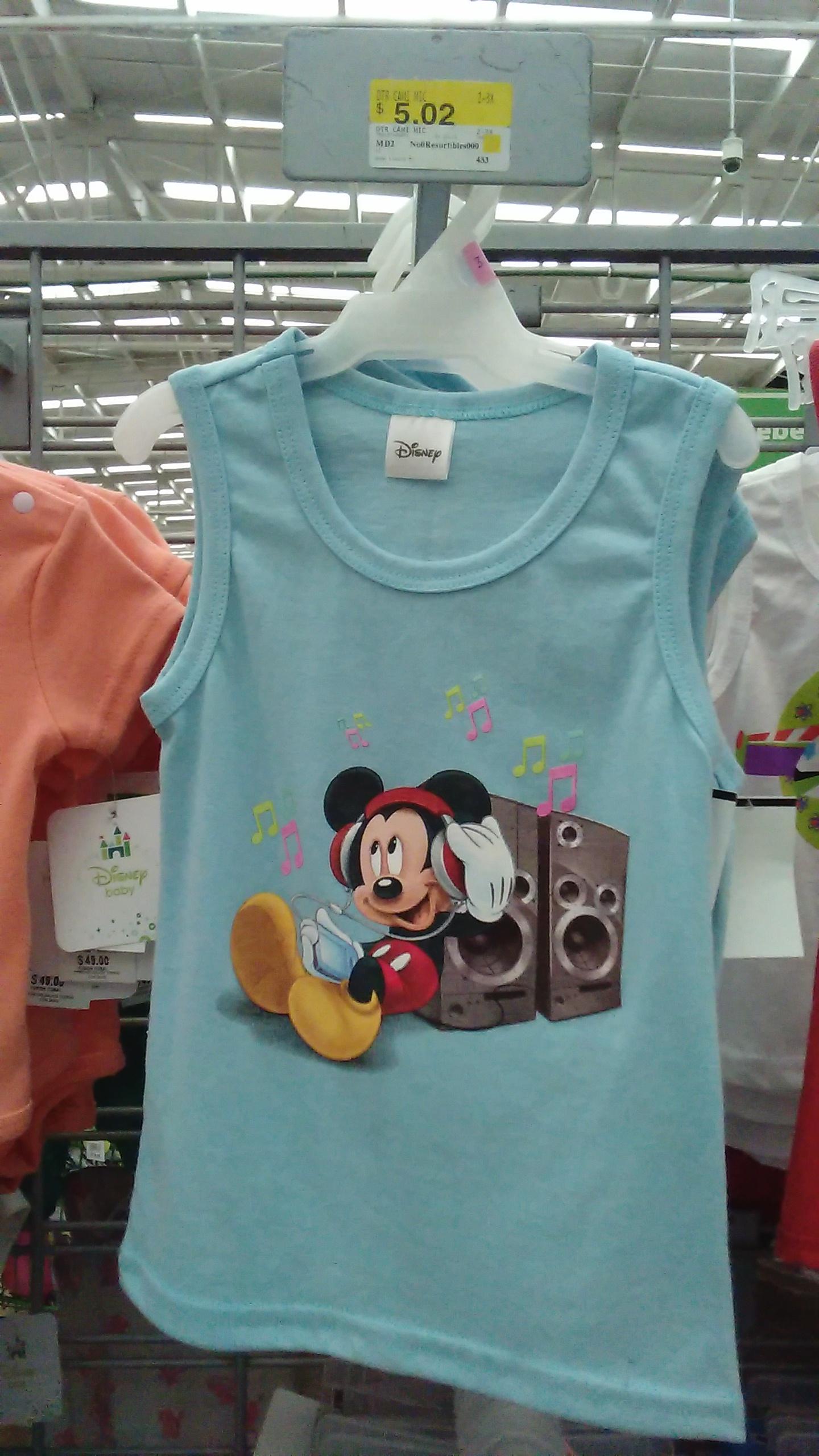 Bodega Aurrerá: camiseta disney para niño desde $5.02