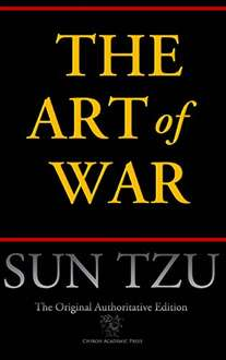 "E-Book ""The Art Of War"" como descarga GRATUITA en Amazon (US)."