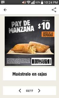 Burguer King: Pay de manzana
