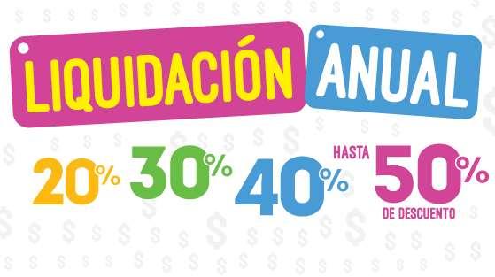 Juguetron: liquidación anual