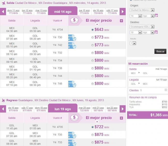 Volaris: vuelos nacionales desde $798 y a USA desde $138 dólares de agosto a noviembre