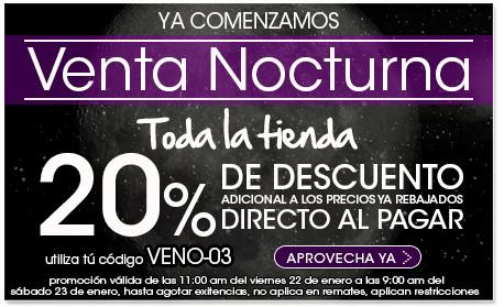 Pappomanía: 20% de descuento adicional a lo ya rebajado en toda la tienda en venta nocturna