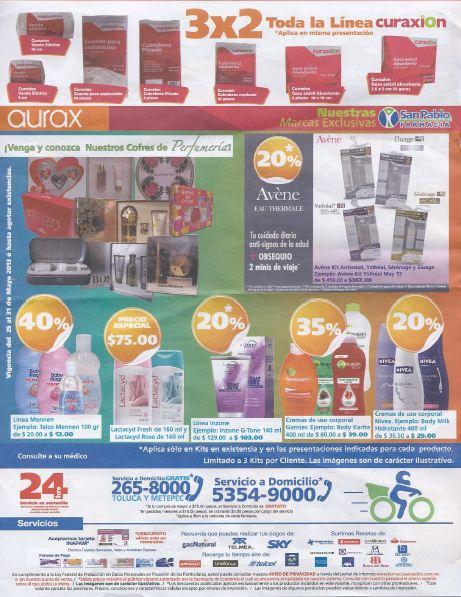 Farmacias San Pablo: 3x2 en Gatorade y papel Pétalo, 40% en línea Mennen y más