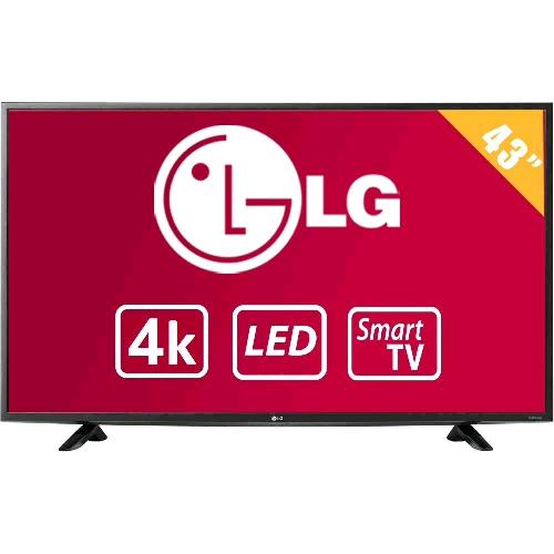 Walmart: TV LG 43 Pulgadas 4K Ultra HD Smart TV LED 43UF6400
