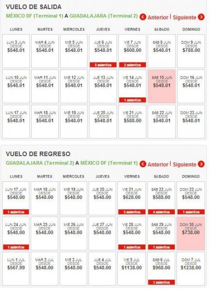 Vivaaerobus: vuelo sencillo del DF a Guadalajara a $548