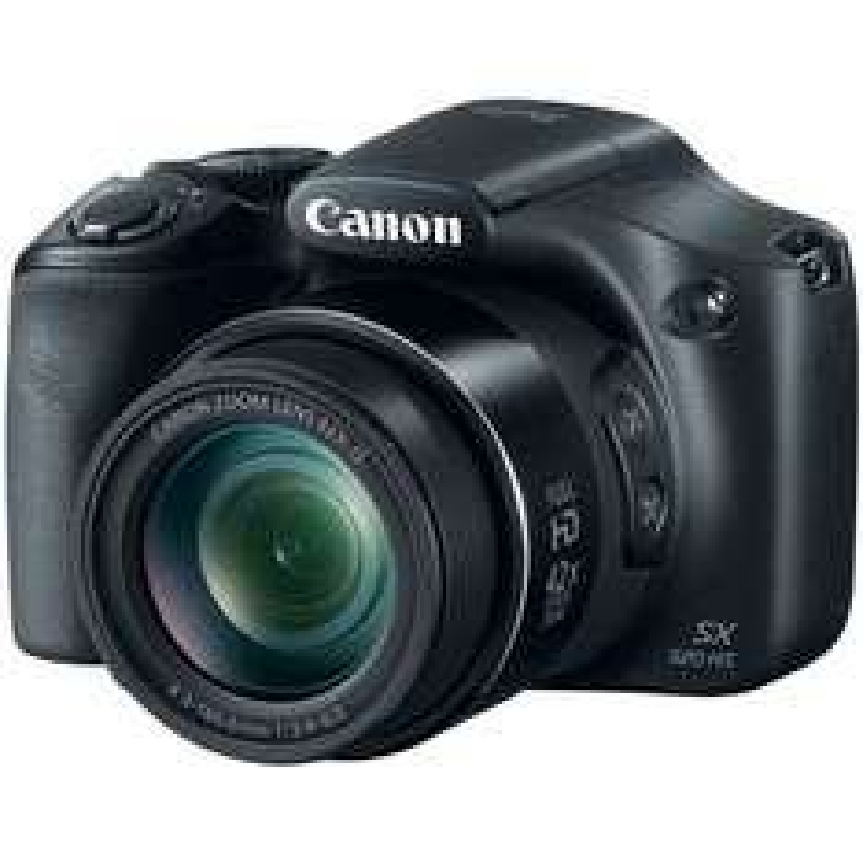 """Amazon México: Canon PowerShot SX520 Cámara digital de 16 MP con zoom óptico 42x, estabilización óptica de imagen y pantalla LCD de 3"""" $2999"""