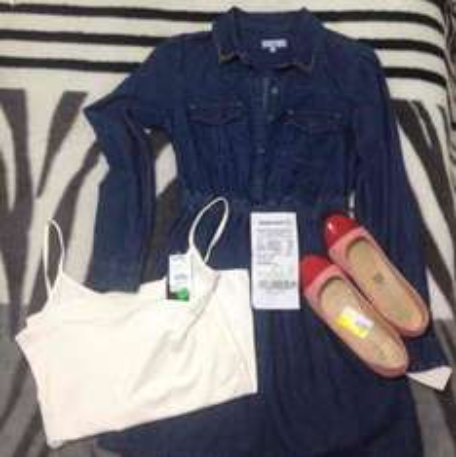 Waltmart: Vestido $5, Flats $60, Blusa $30