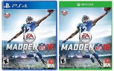 Amazon MX: Madden NFL 16 (Xbox One/PS4)