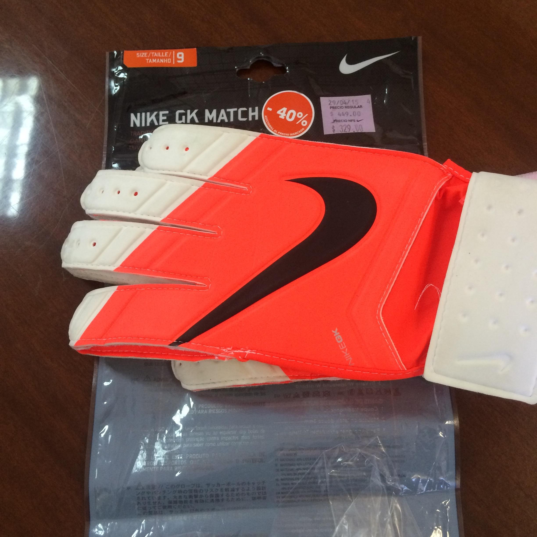 Nike Store: Guantes de portero de $449 a $197